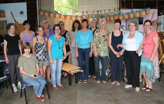 ' Finding the Inner Artist ' workshop group