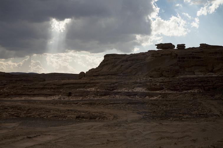 Light over the South Sinai Desert