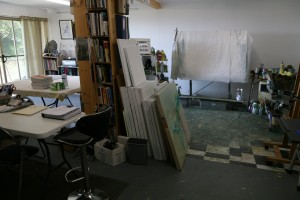 The Sanctuary..the art studio
