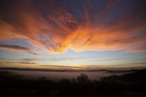 Tallegalla morning skies