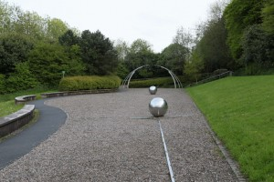 Part of the Art Pod location in Armagh Northern ireland